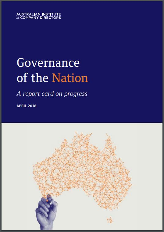 "AICD's report card on national reform says ""we must do better"""
