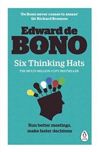 6 thinking hats book cov